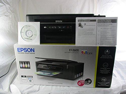 Epson EcoTank ET-2600 A4 Print/Scan/Copy Wi-Fi P
