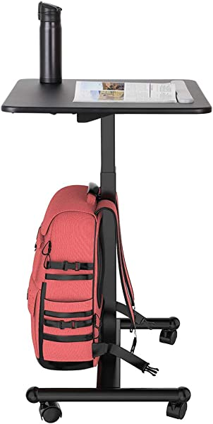 Flexispot MT3 Sit Stand Mobile Laptop Desk Computer Cart Height Adjustable From 29 3 Inches To 45 Inches