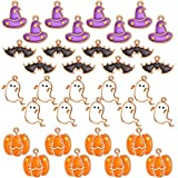 34 Pieces Halloween DIY Charms H...