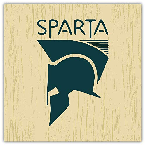 Sparta Embleem Bumper Sticker Vinyl Art Decal voor Auto Truck Van Window Bike Laptop