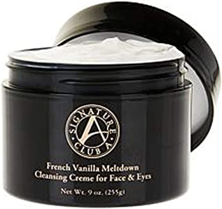 Signature Club A French Vanilla Meltdown Cleansing Creme for Face & Eyes JUMBO 9 oz.