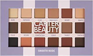Carter Beauty Smooth Nude 18-Shade Eyeshadow Palette