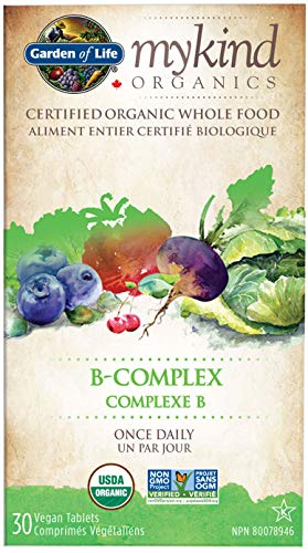 Garden of Life - Mykind Organics B Complex Once Daily - 30 Vegetarian Tablets, 1 Unit