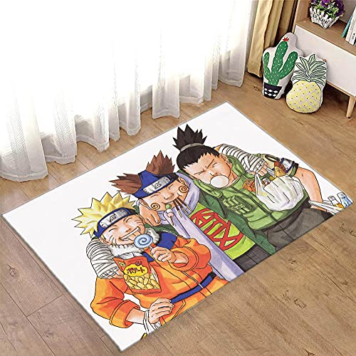 Tapete Naruto Anime Tapetes para Meninos Banheiro Capachos Decorações de Quarto - Anime3_81,5x47,2 polegadas