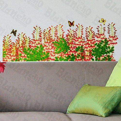 Patchs à rideau Fleur – Stickers muraux Stickers Décoration intérieure