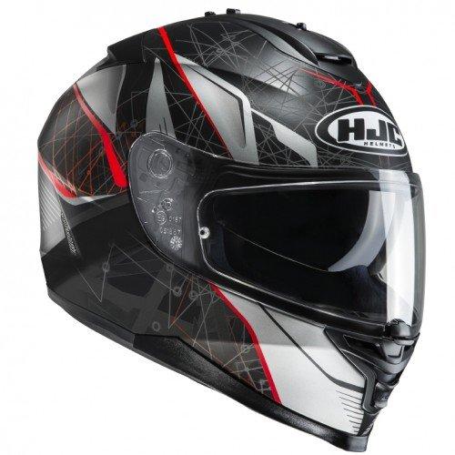 HJC 12377107 Casco de Moto, Hombre, Daugava, S