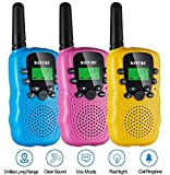 Walkie Talkies for Kids 3 Pack, 22 Channel Long Range Up to 3