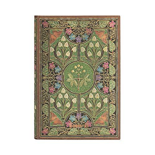 Paperblanks 18-Monatskalender 2020-2021 Blühende Poesie | Horizontal | Mini (95 × 140 mm)