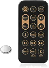 Loyeenha Remote Control for Klipsch R4B R-4B 1062590 RSB8 RSB-8 SB6 RSB6 RSB-6 RSB-3 RSB3 Sound Bar Speaker and Coin Battery