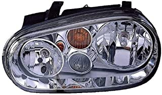 Depo 341-1108L-AS Volkswagen Driver Side Replacement Headlight Assembly 02-00-341-1108L-AS