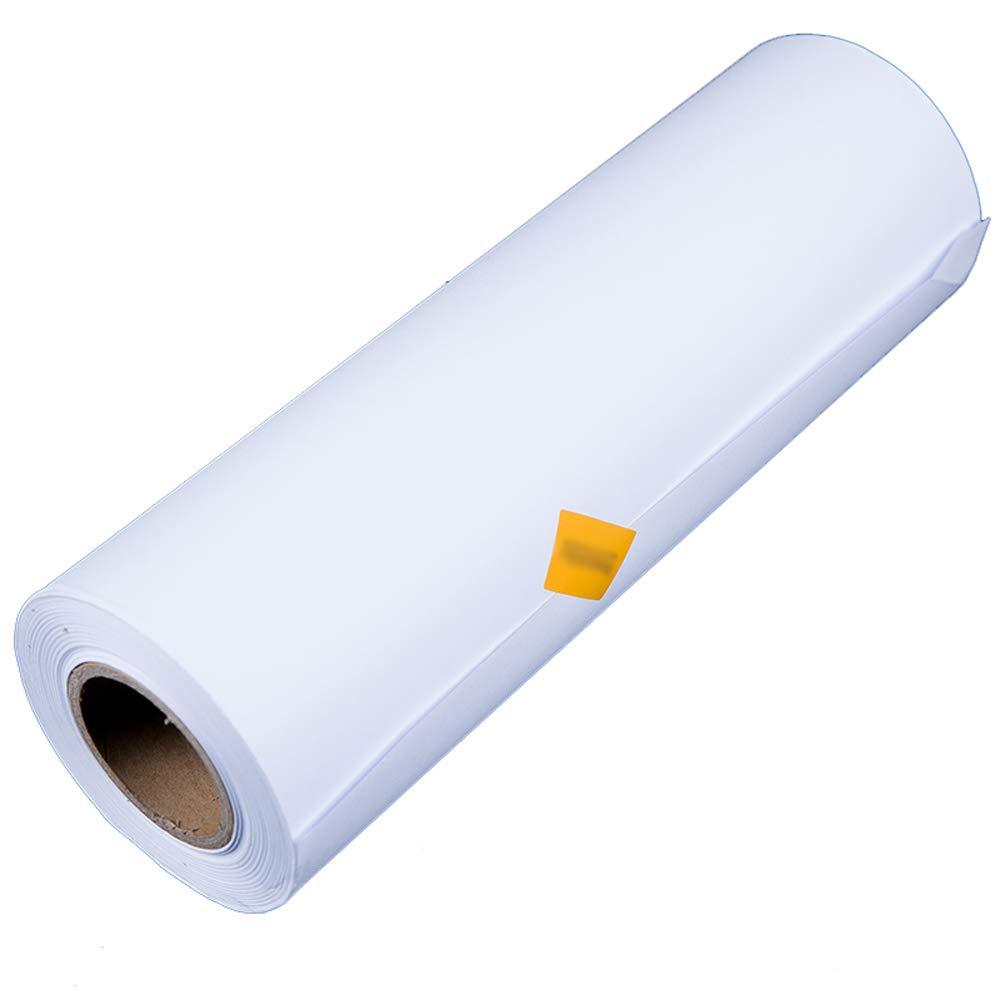 QING MEI-Papel De Dibujo Rollo A0 Rollo Papel Papel Blanco 880 Mm X50 M Diseño De Ingeniería De Construcción Dibujo Dibujo Color Plomo Plomo Papel 80 G De Espesor A+: Amazon.es: Hogar