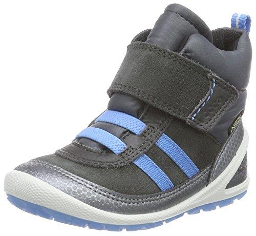 ECCO Baby Jungen Biom LITE Infants Boot Stiefel, Grau (BUFFEDSILVER/DARKSHADOW/DARKSHADOW 59204), 22 EU