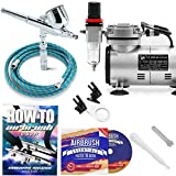 Best Airbrush Kits - PointZero Multi-Purpose Airbrush Kit with Compressor Crafts Hob Review