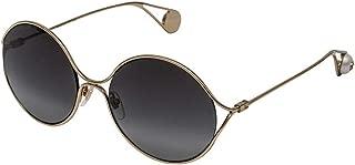 Grey Gradient Round Ladies Sunglasses GG0253S 001 58