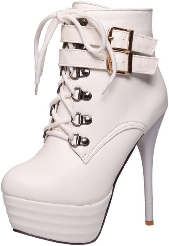 FANIMILA Women Stylish Side Zipper Party Boots Super Heel