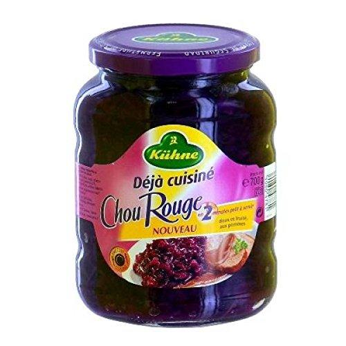 Kuhne 700g Apfelrotkohl - ( Einzelpreis ) - Kuhne chou rouge pomme 700g