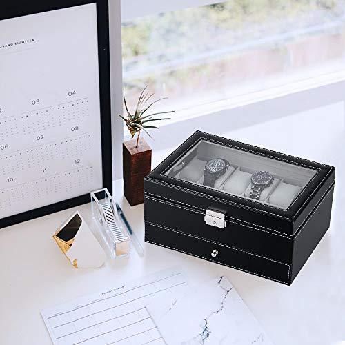 Uten Uhrenbox-12 Leder