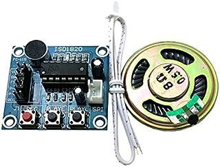 MADONG ISD1820オーディオサウンドレコーディングモジュール、マイク付き、スピーカー - ディープブルー