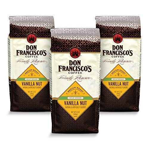 Don Francisco's Ground Decaf Vanilla Nut Flavored