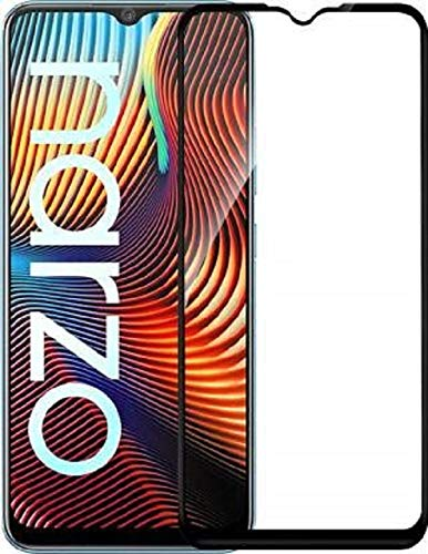 Nishtech® Edge to Edge 11D Tempered Glass Screen Protector for Realme Narzo 10/10A/20/20A