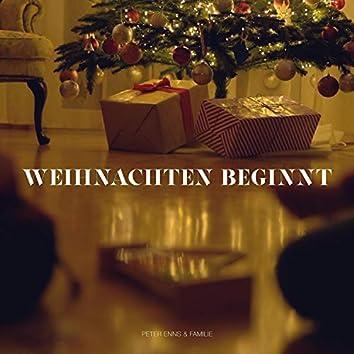 Weihnachten beginnt