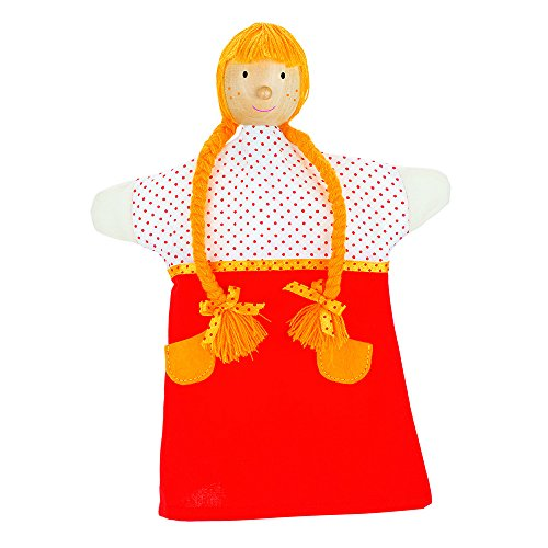 Goki - 2040593 - Marionnette À Mains en Peluche - Gretel