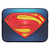 Superman Superhero Laptop Sleeve Bag 15 Inch Tablet Briefcase Ultra Portable Protective, Laptop Canvas Cover MacBook Air, MacBook Pro, Notebook Computer Sleeve Case