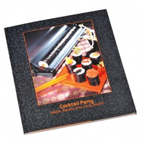 Lansa design - cocktail party - Livre de recettes pour easy sushi 2.5cm easy sushi