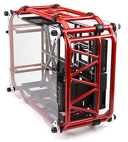 In Win Signature Motorcycle Steel Tube ATX Computer Case Cases D-Frame Red Red