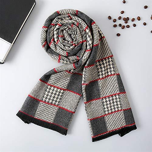ULIULINH Dames dikke sjaals van wol, warm, geruit, cadeau voor koud klimaat