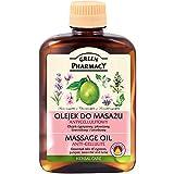Green Pharmacy- Aceite anticelulitico a base de aceites esenciales de Lavanda enebro y ciprés con...