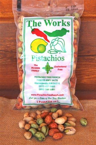 1 lb. bag The Works Pistachios