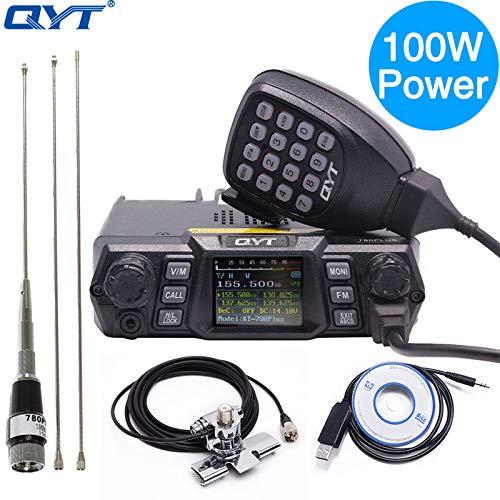 QYT KT-780 Plus 100 Watts Powerful VHF 136-174mhz Transceiver 200 Channels Long Range Communication Ham Car/Mobile Radio