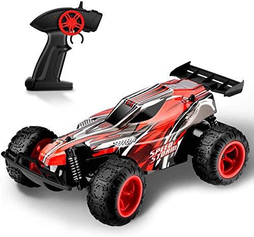 Rabing Control Remoto Coche,  Terreno Ilimitado RC Coche,  2.4Ghz Radio de Alta Velocidad Control Remoto Racing Cars 1/22 Off- Road Rock Vehículo,  Rojo