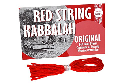 8 pcs Original Kabbalah Red String Bracelet from Israel – Powerful Protection for Your Family against Evil Eye
