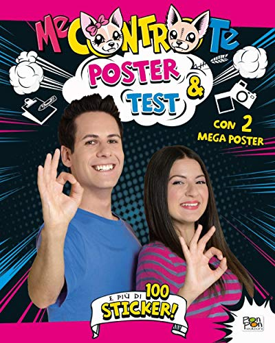 Poster & test. Con adesivi. Con 2 Poster
