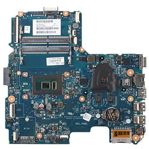 DINGZH-HANGZH para HP Pavillion 15-Am 6050A2822501 902589-601 SR2ZV I7-7500U 216-0864032 Placa Madre del Portátil Placa Base Piezas de Repuesto (Color : A)