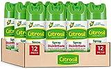 citrosil home protection - spray disinfettante con vere essenze di agrumi, superfici multiuso, elimina fino al 99,9% dei batteri, 300 ml x 12 pezzi