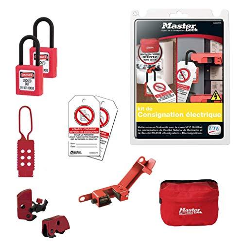 Kit de consignación eléctrica ELECKIT-FR Master Lock