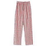 Pantalones De Pijama para Mujer, Pijamas De AlgodóN Y PoliéSter, Pantalones De Mujer, Pantalones A Cuadros De Primavera Y OtoñO, Bonitos Que Se Pueden Usar Fuera De La Ropa del Hogar