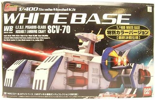 tomar hasta un 70% de descuento Gundam Collection 1 400 blanco blanco blanco Base Edition (japan import)  minorista de fitness