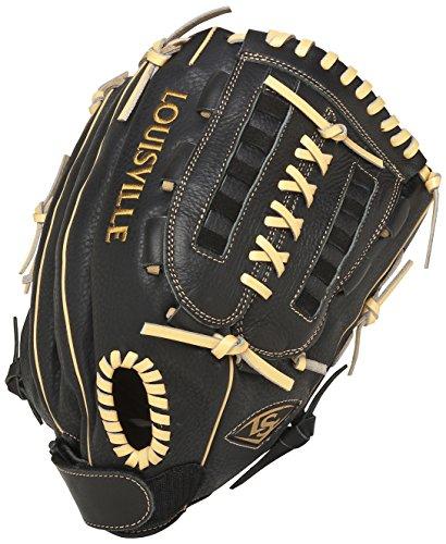 Louisville Slugger 13-Inch FG Dynasty Softball Infielders Gloves, Black, Left Hand Throw