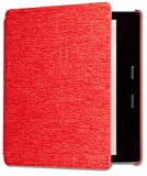 Kindle Oasis ( 9th and 10th Gen) Water-Safe Fabric Amazon Cover, Red