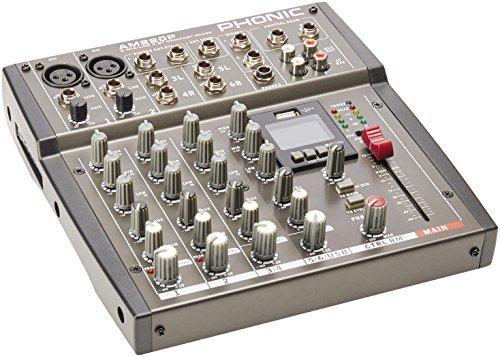 Phonic AM220P - kompakt mischpult 4 Kanäle - 12 Eingänge