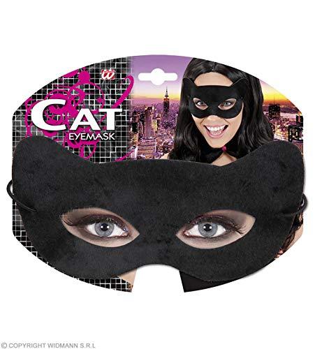 Widmann Augenmaske schwarze Katze