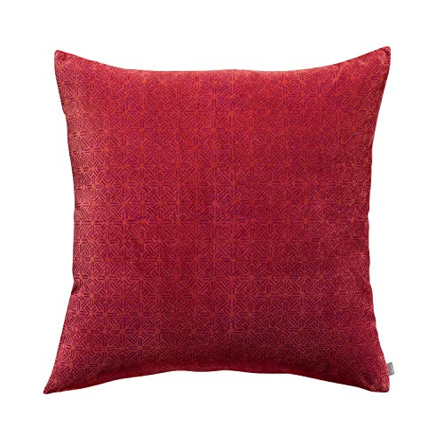 Vivaraise - Housse de Coussin - Housse de Coussin déco - Taie d'oreiller - Housse de Coussin Douce et agréable - 65 x 65 - Jade