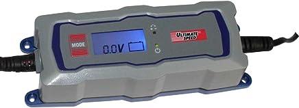 Cargador de Batería para Coches, Moto, Barco con 6V o 12V y Capacidad de