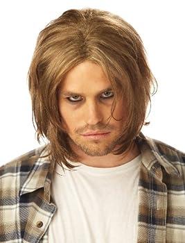 California Costumes Grunge Mens Blonde Wig Standard Brown