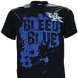 NCAA Champions University of Kentucky Wildcats UK Basketball :'UK Bleed Blue' T-Shirt On Short Sleeve Black
