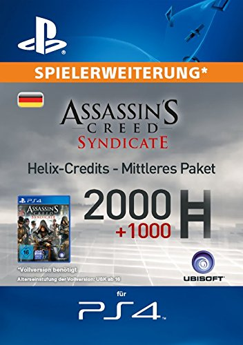 Assassin's Creed Syndicate - Mittleres Helix Credit Paket [Spielerweiterung] [PS4 PSN Code - deutsches Konto]